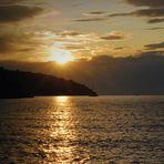 tramonto all'Argentario