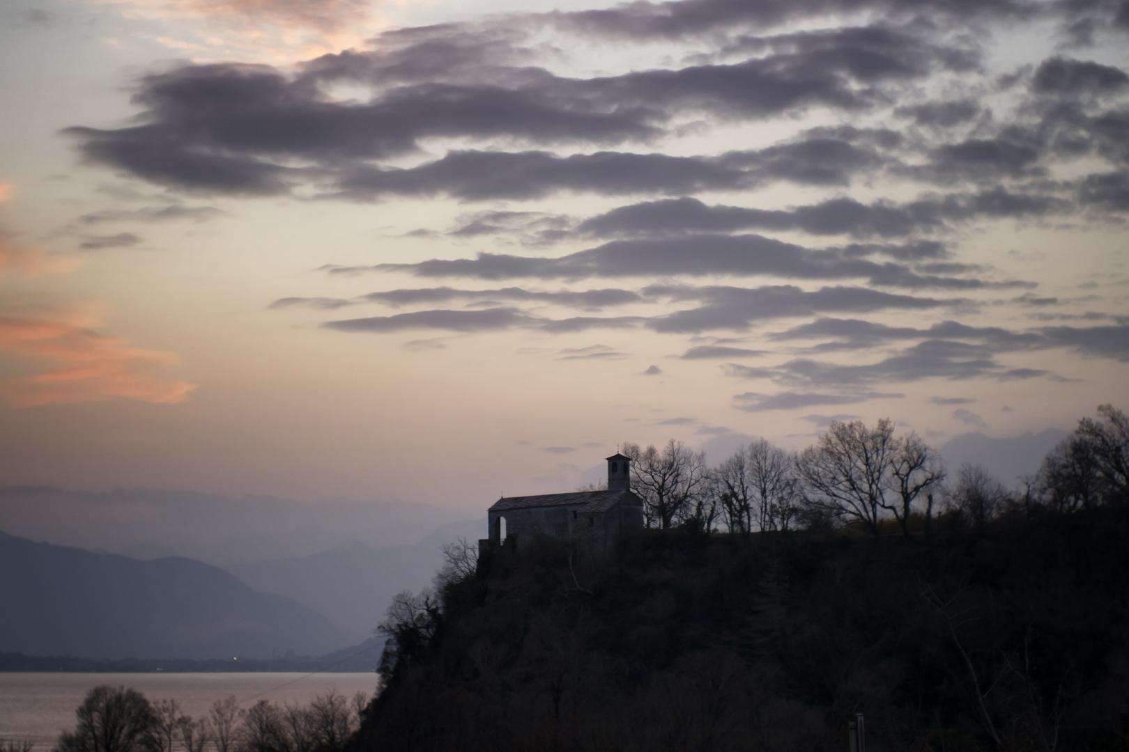 Tramonto da Castello