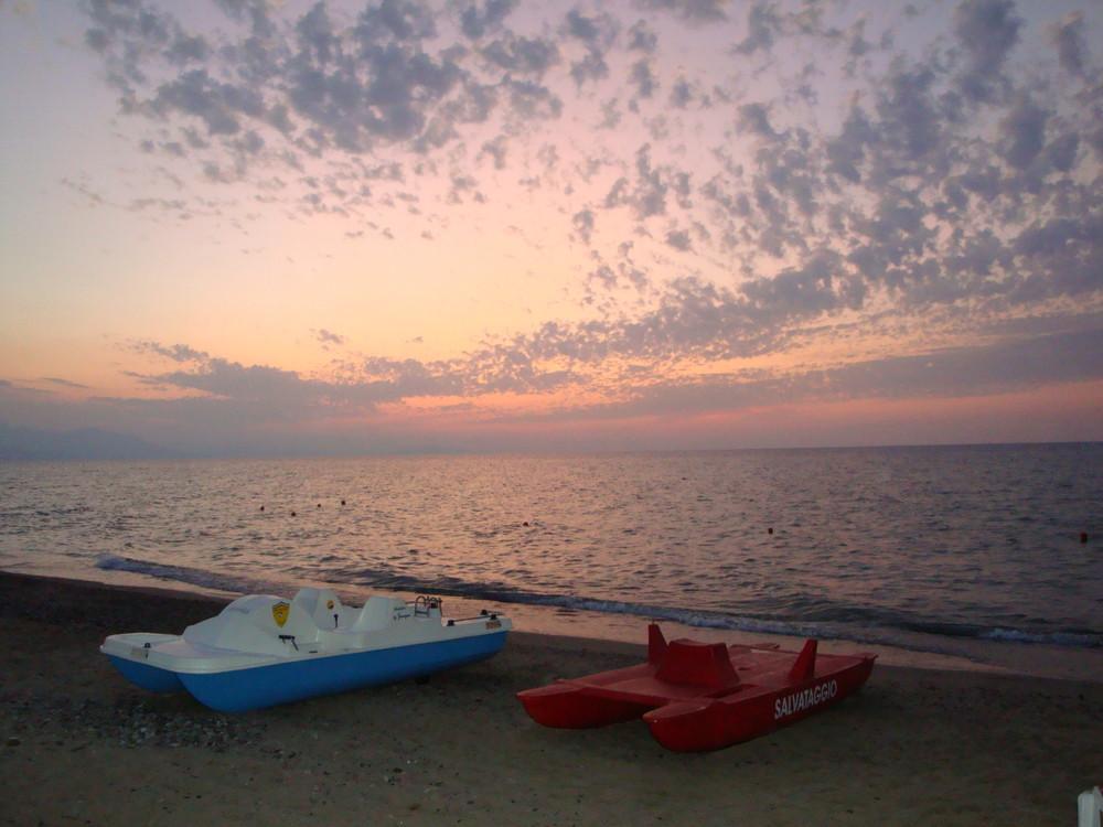 tramonto di fine estate