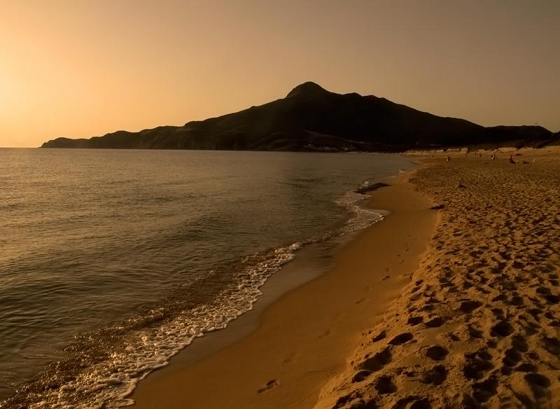 - tramonto di luglio -