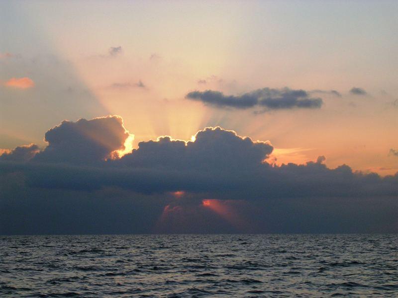 tramonto di nuvole