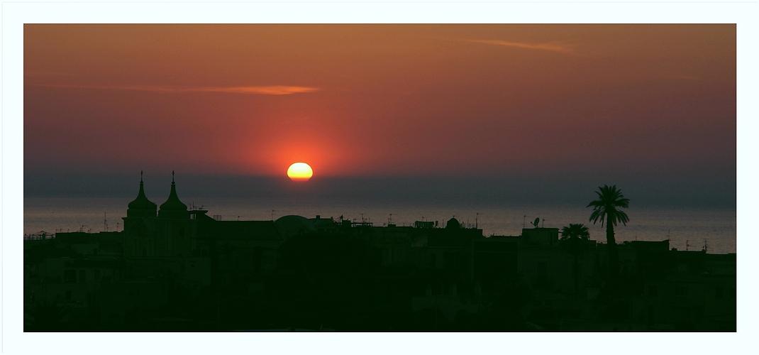 Tramonto d'Oro  (goldener Sonnenuntergang)