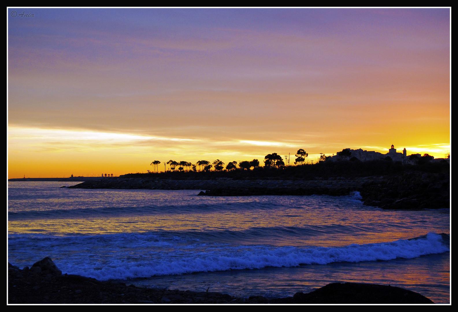 ...tramonto imperia....