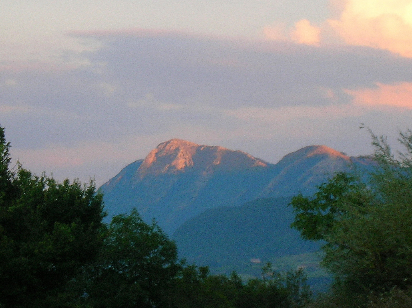 Tramonto in montagna / 4