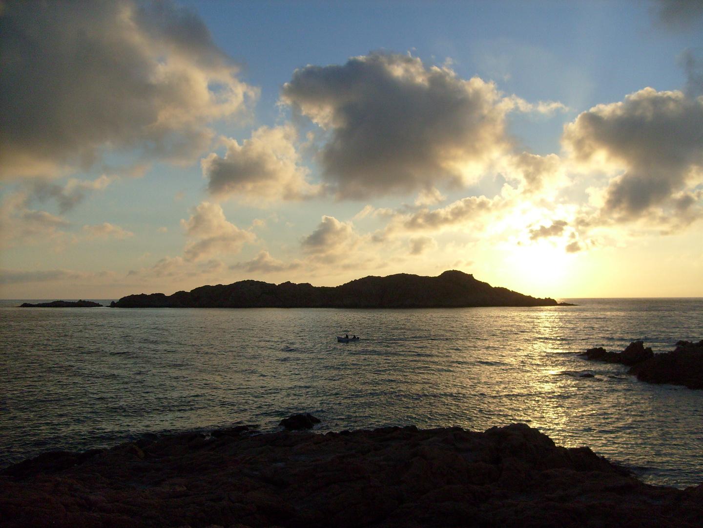 tramonto in sardegna ......