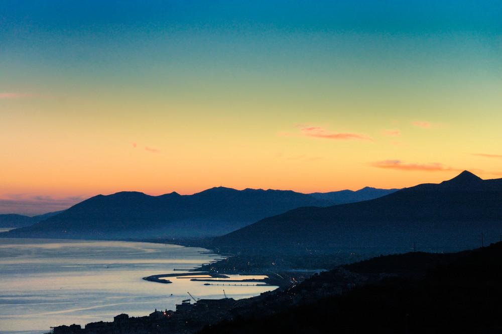 tramonto ligure