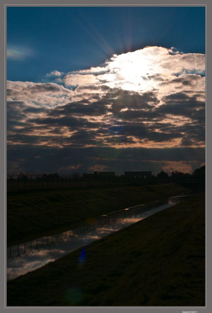 tramonto riflessi