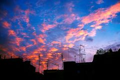 tramonto romano