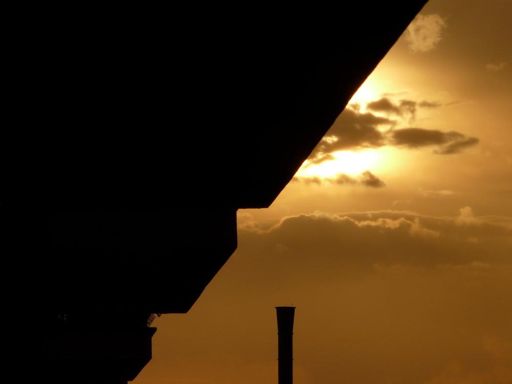 tramonto spezzato