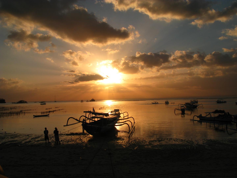 Tramonto su Nusa Lembongan