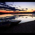 tramonto sul lago di Varese 02