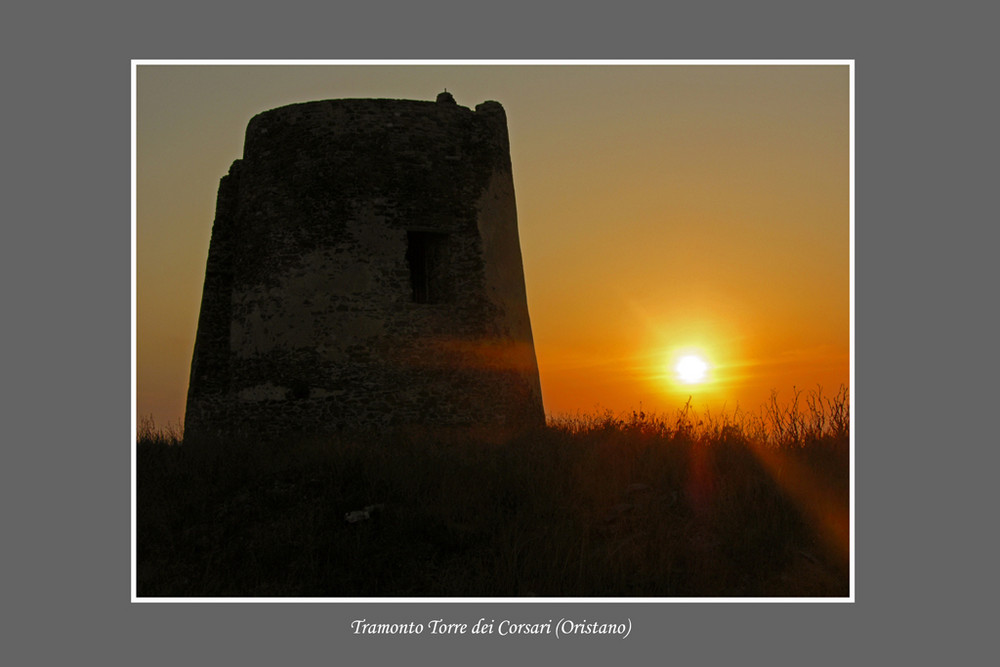 Tramonto Torre dei Corsari - Oristano