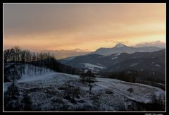 tramonto.sull'ultma neve.. (speriamo! )