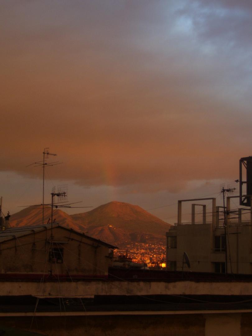 tramoto sulla città: Napoli