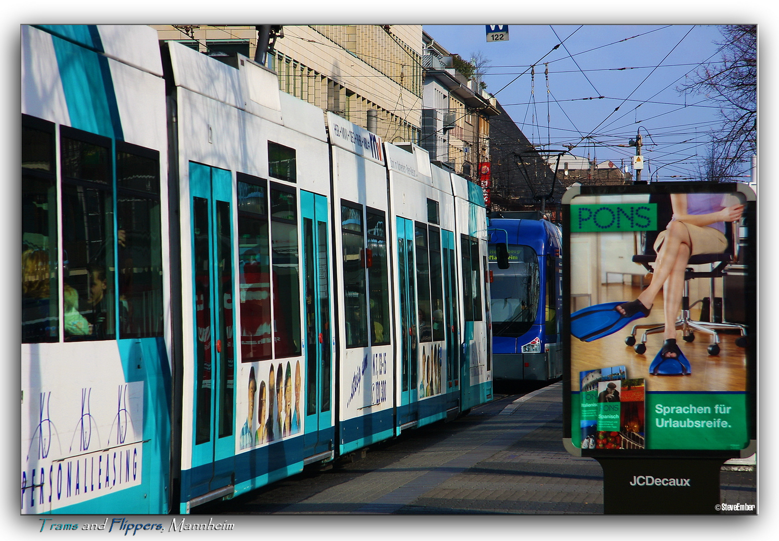 Trams and Flippers, Mannheim