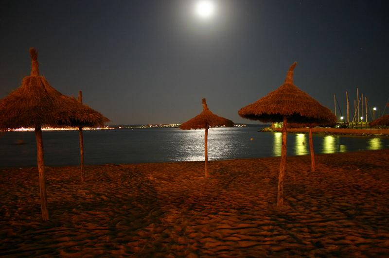 Tranquilidad en la noche Mallorquin