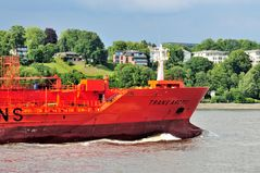 Trans Arctic an der Lotsenstation Hamburg
