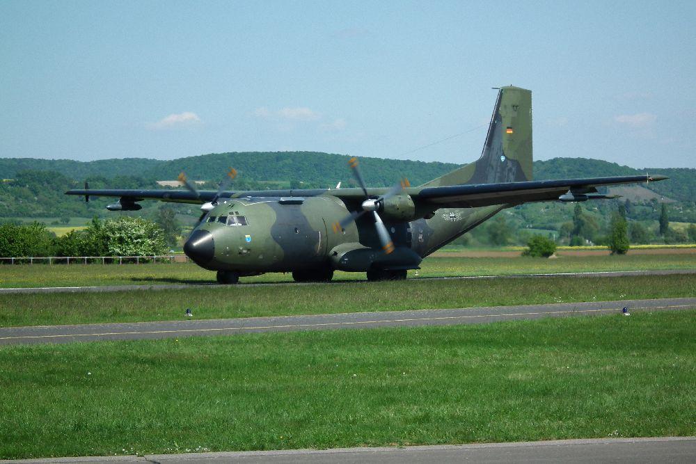 Transall C-160 D in Haßfurt a.M. (2)