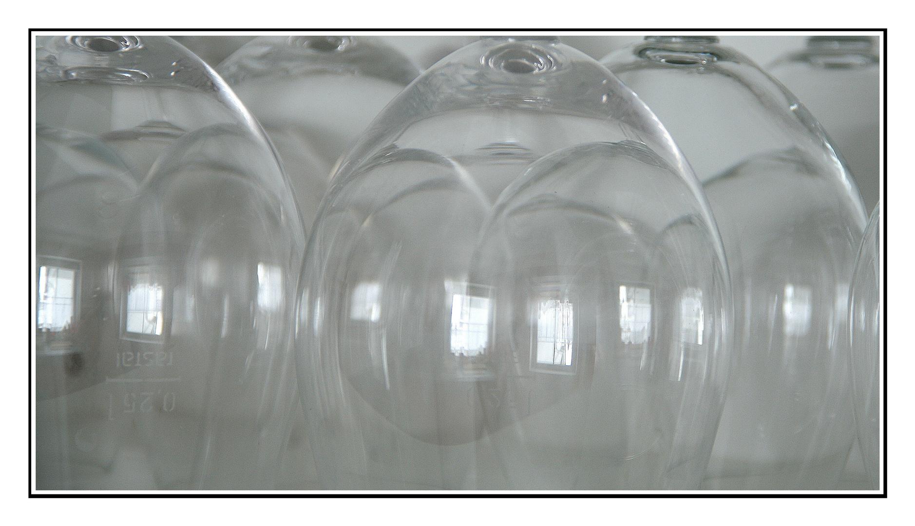 Transparenz im Küchenschrank