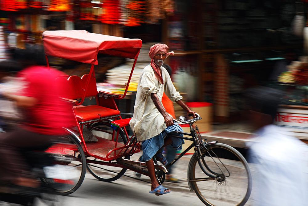 Transport auf indisch...