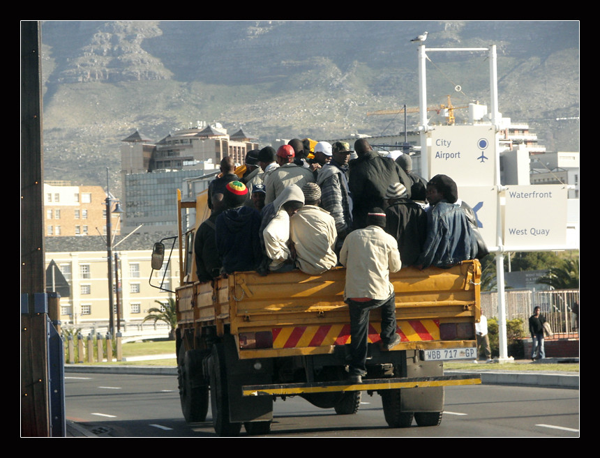 Transport en commun à Cape Town