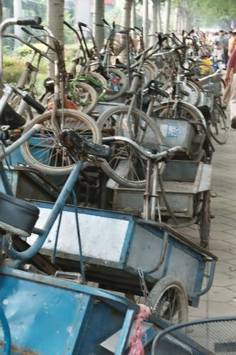 Transport-Fahrräder