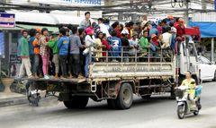 Transport Problem gelöst -- Ost-Pattaya