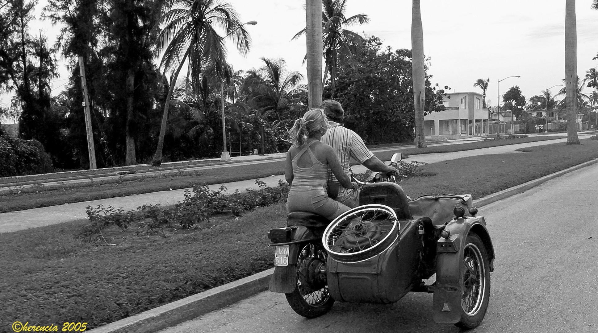transporte añejo en La habana