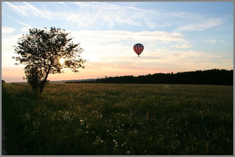 Traum Ballonfahrt über die Schwäbische Alb
