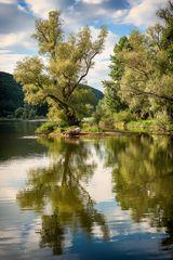traumhafte Bauminsel - sanft