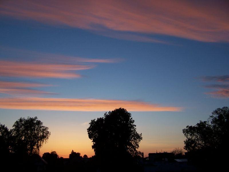 traumhafte Wolken am Himmel