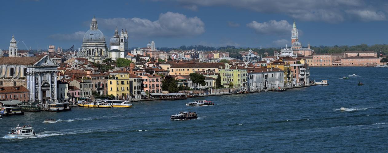 Traumhafter Blick vom Hilton Molino Stucky Venice