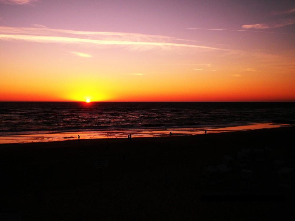 Traumhafter Sonnenuntergang auf Sylt