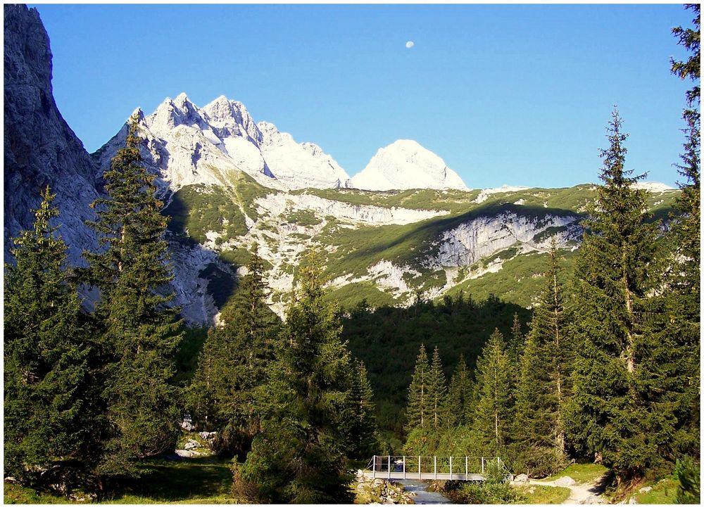 Traumlandschaft in den Bergen - Ein wunderschöner Morgen