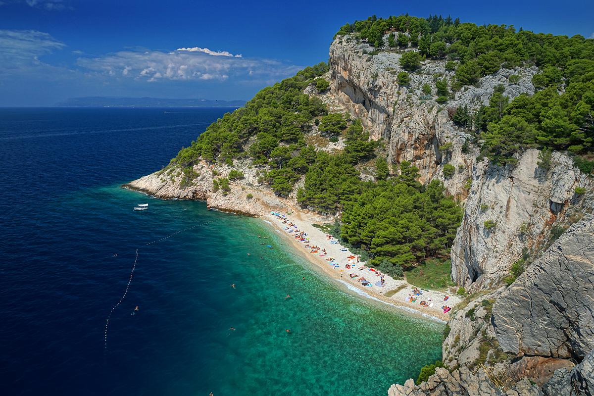 Traumstrand Kroatien