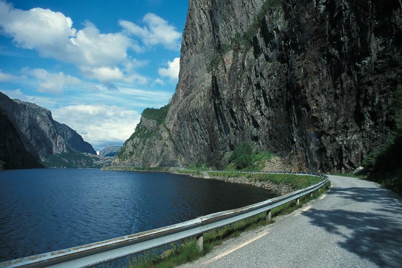 Traumstraße in Norwegen