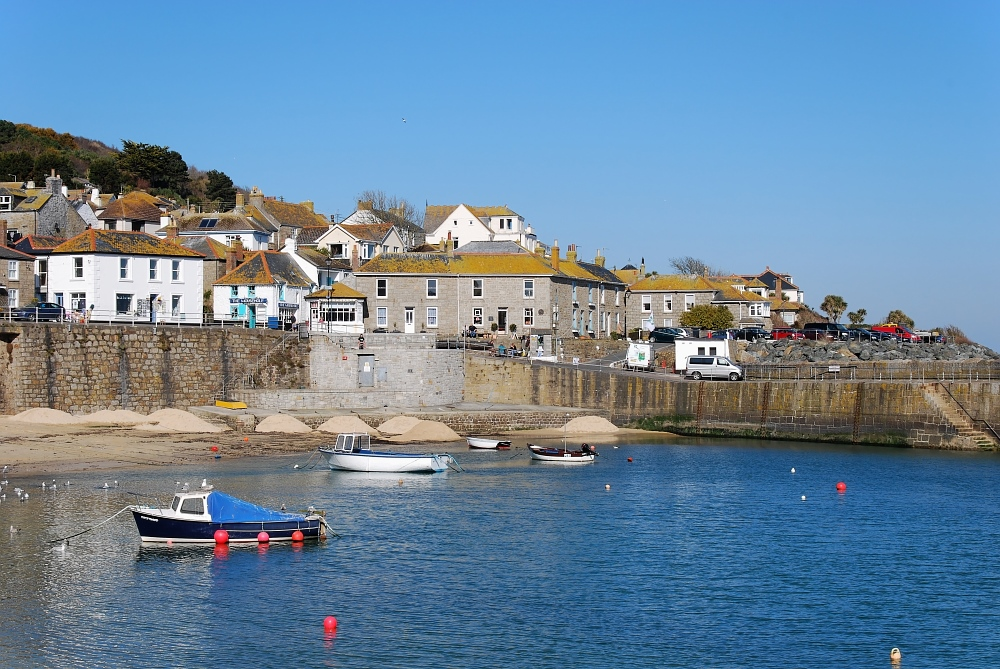 Traumwetter in Mousehole
