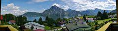 Traun - See und - Stein und Schlafende Griechin (ganz nach rechts schieben)