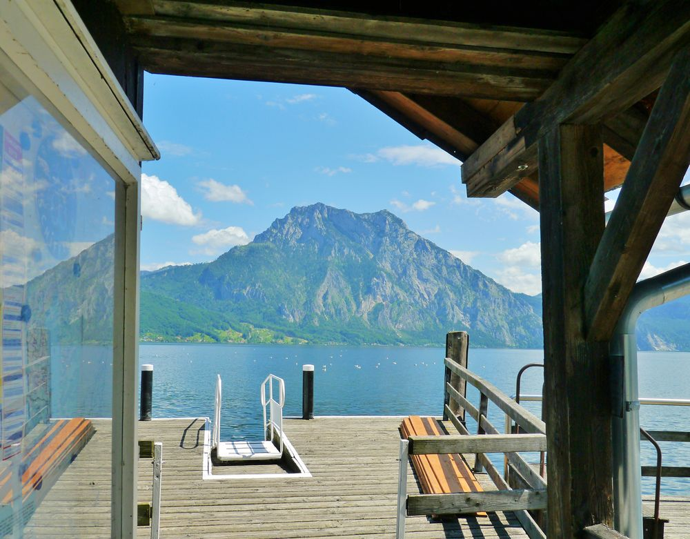 Traunsee - Anlegestelle ...