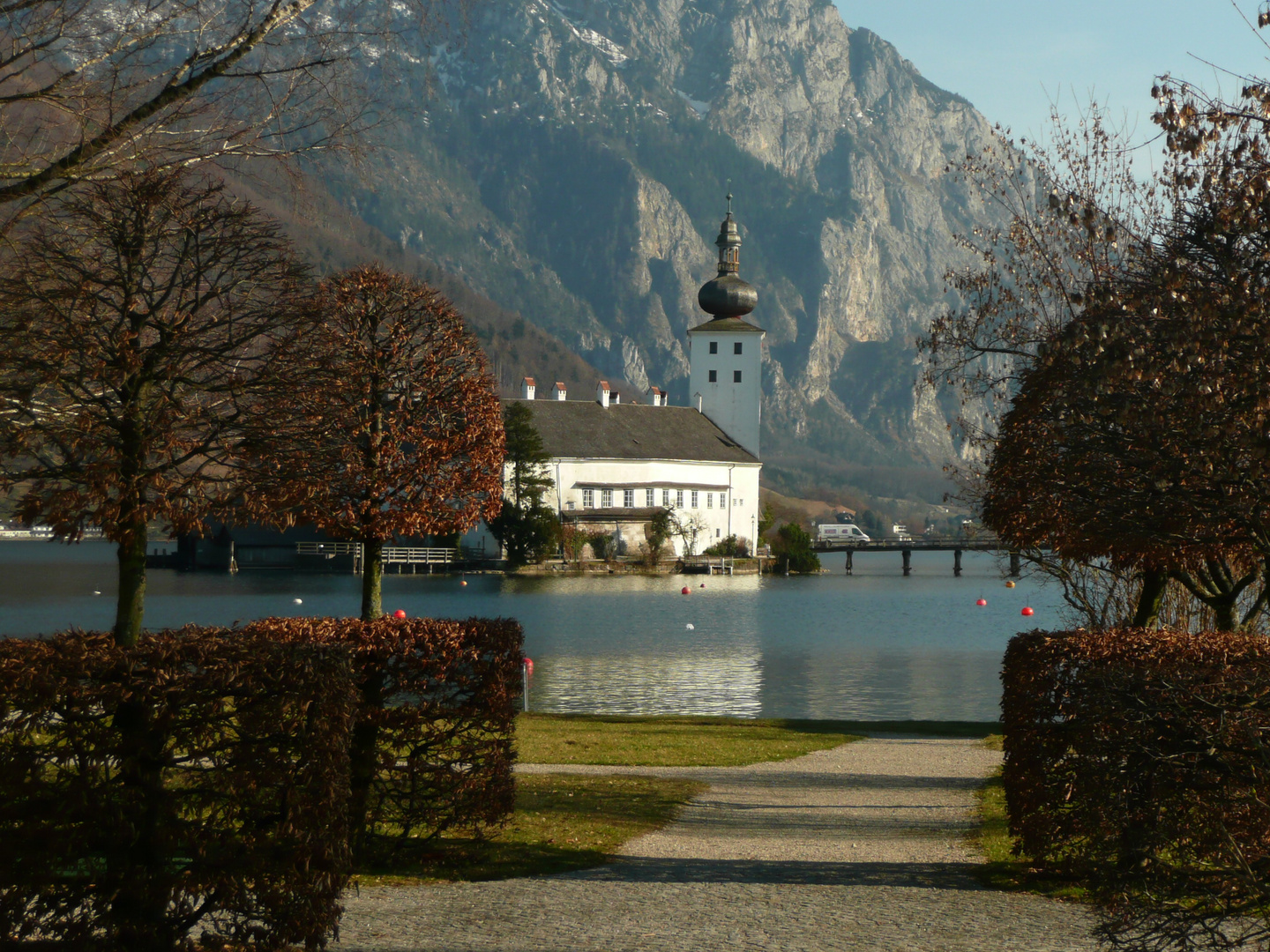 Traunsee / Schloss Orth