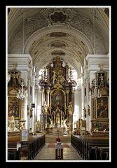 Traunstein, Stadtpfarrkirche St. Oswald