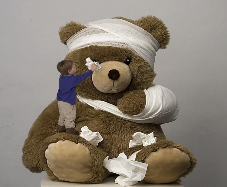 Traurige Bär