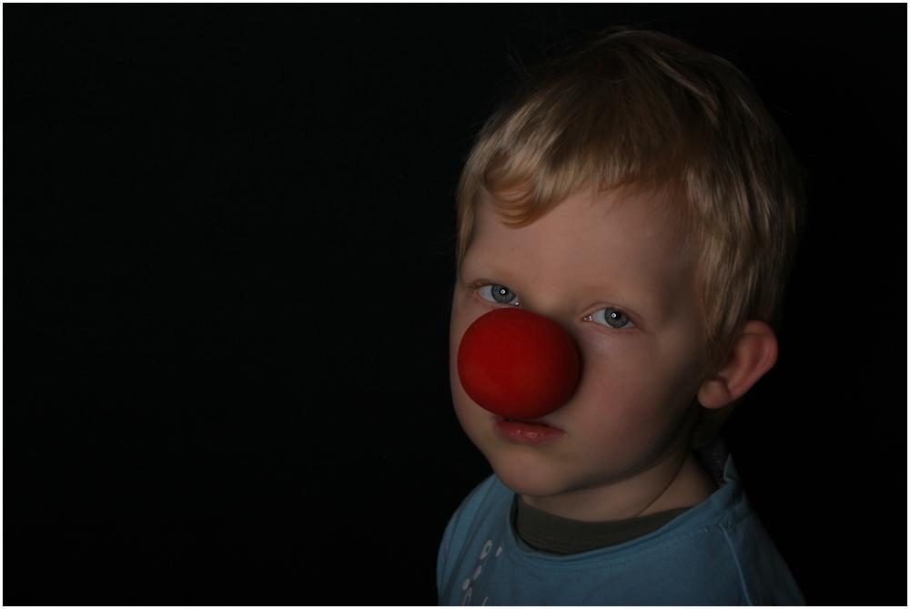 trauriger clown...