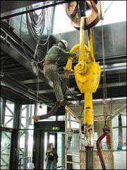 Travailleur infatigable de la mer du Nord...un peu de jaune:-))