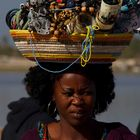 Travel in Senegal! Woman in market place