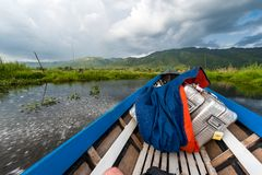 Travelling Fast On Lake Inle