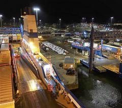 Travemünde Hafen bei Nacht