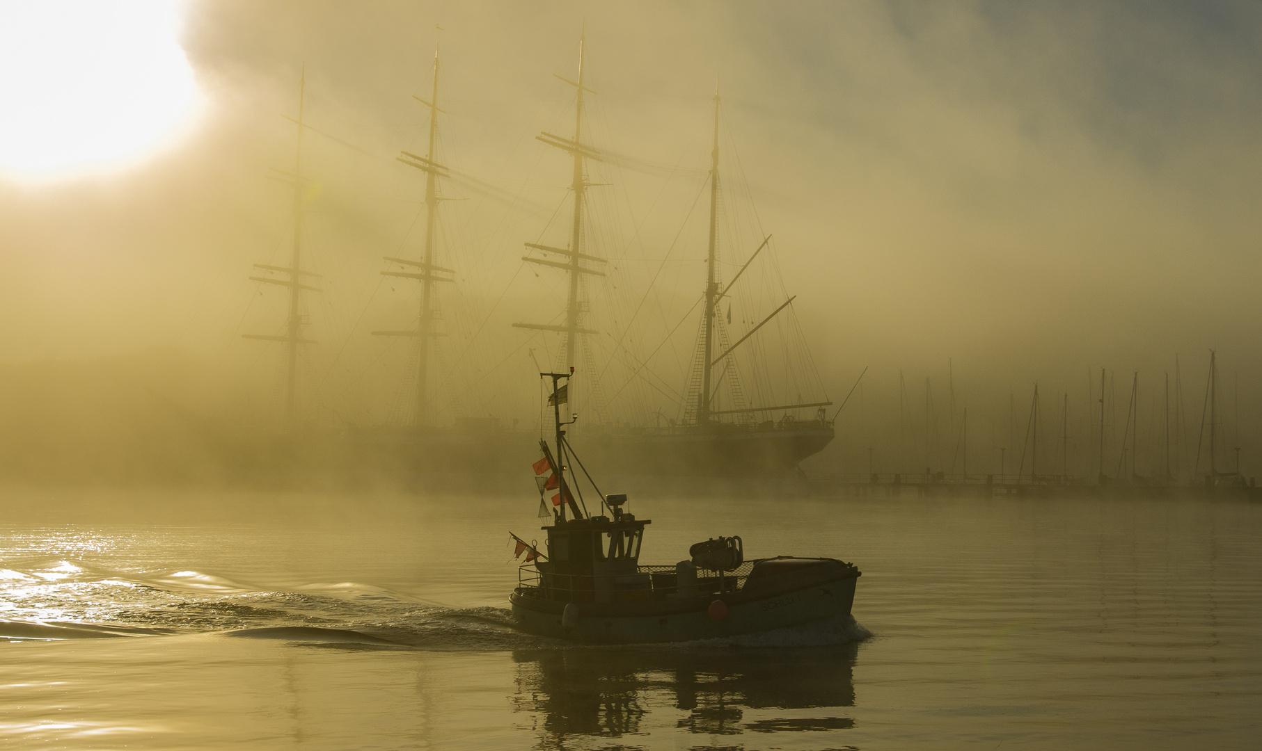 Travemünde Schiffsverkehr