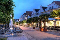 Travemünde - Straßencafe