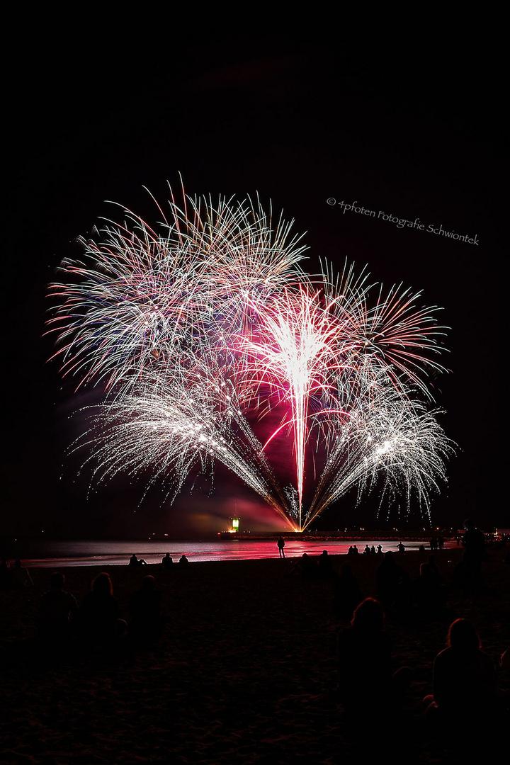 Travemünder Woche 2016 Abschluss Feuerwerk